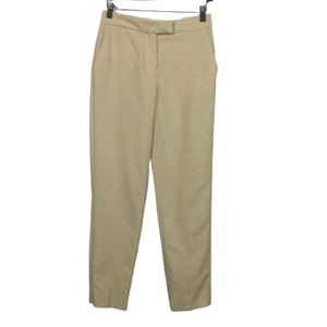 Mango MNG Suit Linen Blend Tapered Trousers